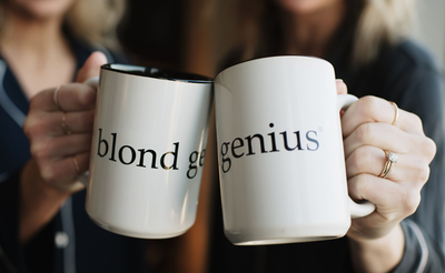 Blond Genius - Signature Coffee Mug