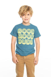 Chaser Kids - Boys Triblend Crew Neck S/S Tee in Bay