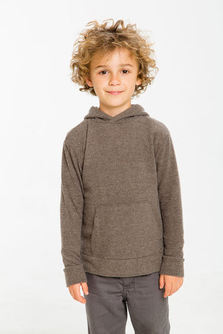 Chaser Kids - BOYS LOVE KNIT L/S HOODIE PULLOVER