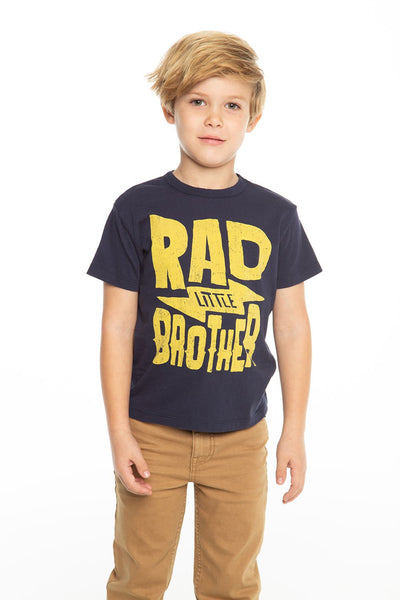 Chaser Kids - Boys Cotton Jersey Short Sleeve Crew Neck Tee in Avalon