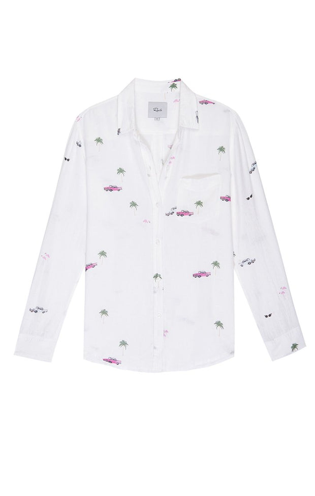 RAILS - Charli Long Sleeve Button Down in Retro Cali