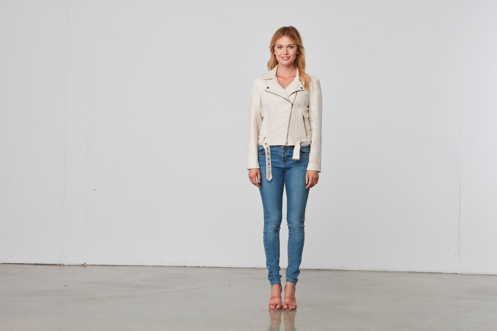 Cupcakes and Cashmere- Manele Jacket Soft Beige