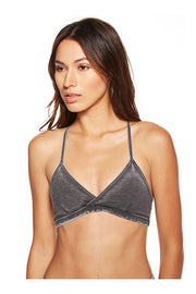 Chaser Chaser - Arrow Back Strappy Bralette Black at Blond Genius - 2