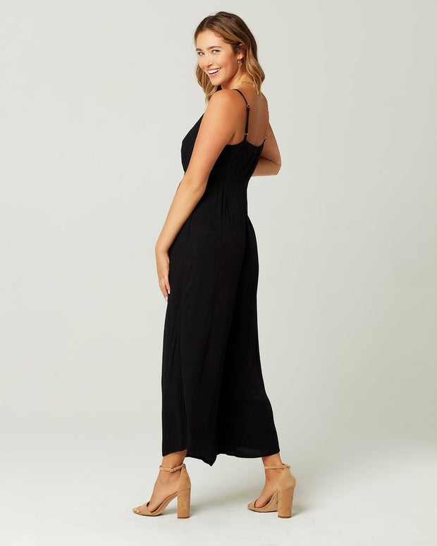 L*Space - Come Together Jumpsuit in Black