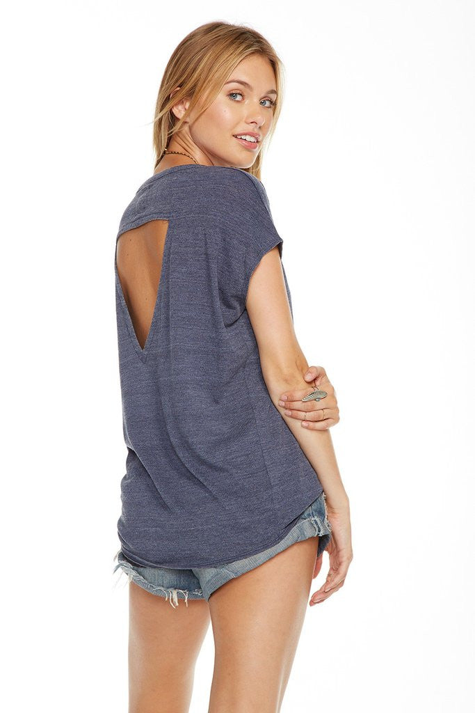 Chaser - Vintage Triblend Dolman Tee Pacific
