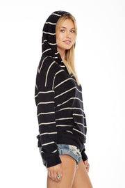 Chaser - Striped French Kanga Hoodie