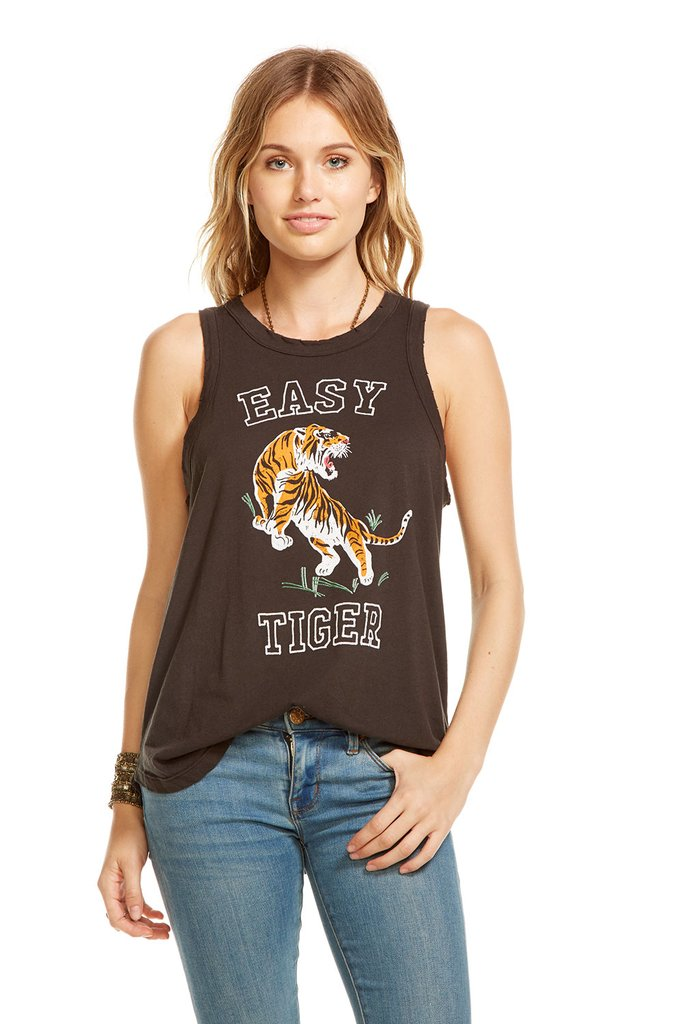 Chaser - Shirttail Muscle Tank Easy Tiger
