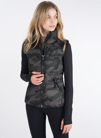 SAM. SAM - Camo Freedom Vest Dark Camo at Blond Genius