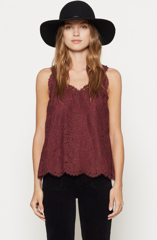 Joie JOIE -  Cina Lace Top at Blond Genius - 1