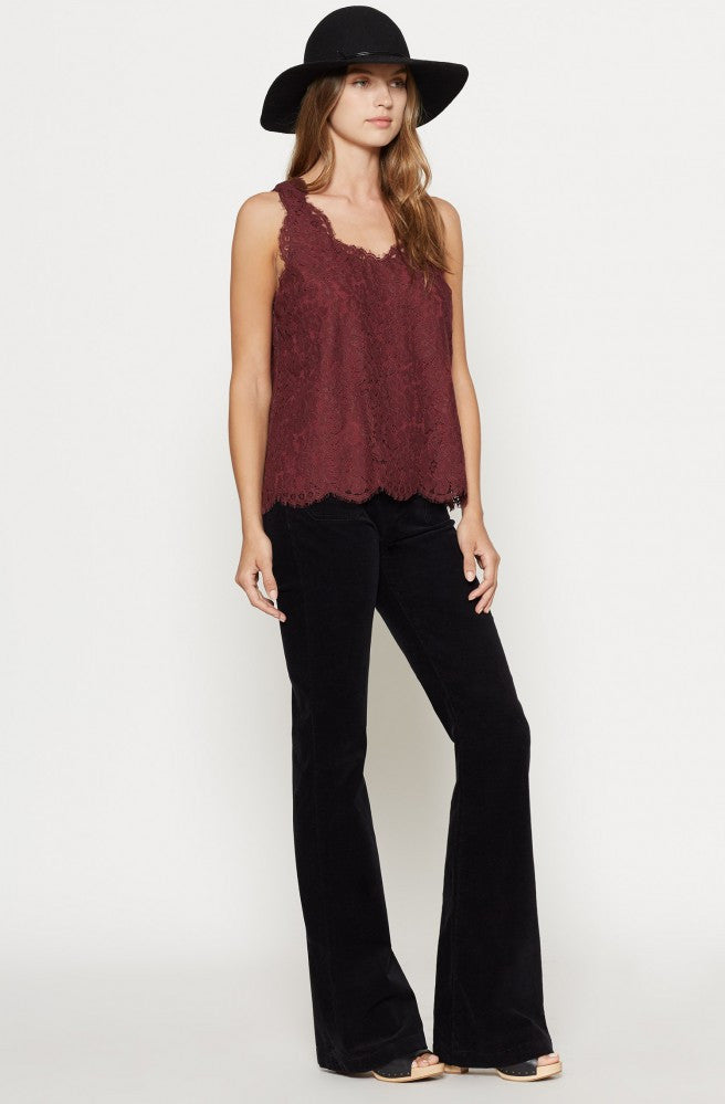 Joie JOIE -  Cina Lace Top at Blond Genius - 2