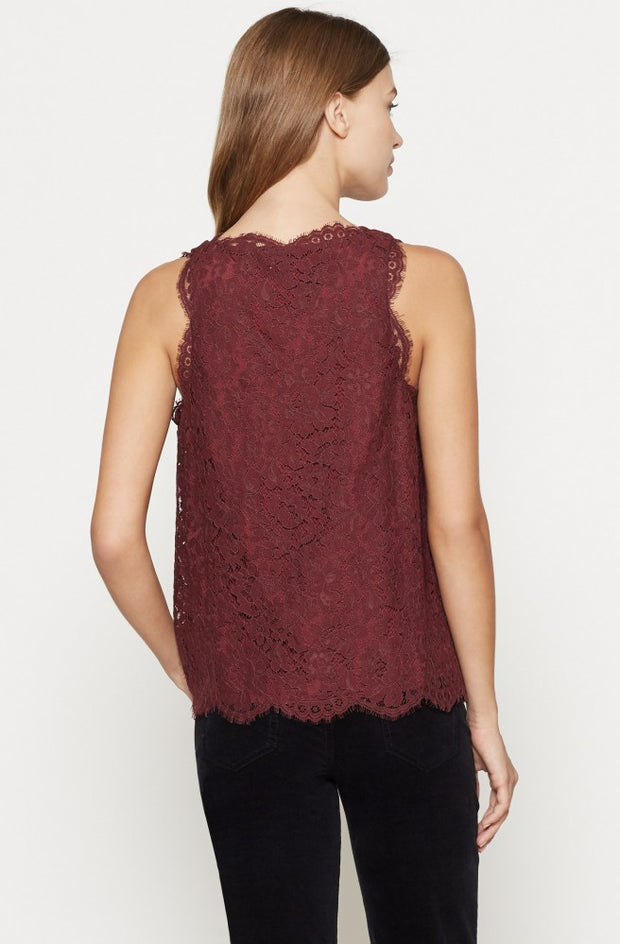 Joie JOIE -  Cina Lace Top at Blond Genius - 3