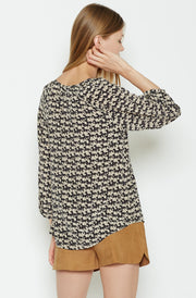 Joie JOIE - Coralee Silk Top at Blond Genius - 3