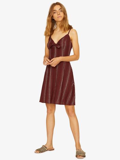 Sanctuary - Take Away Tie Dress Henna Multi Stripe