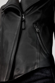 MACKAGE - Dinah Leather Jacket in Black