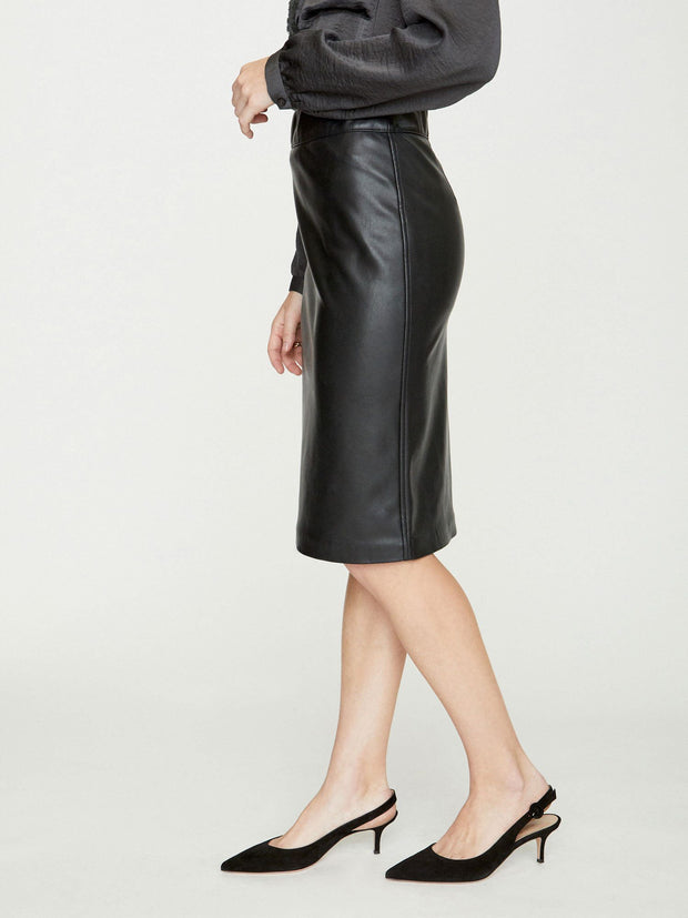 Brochu Walker - Drew Skirt in Black Onyx
