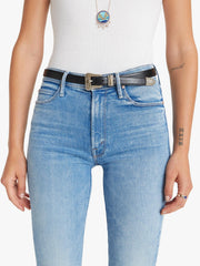 Mother Denim - Mid Rise Dazzler Ankle Fray Jeans in Dropping In