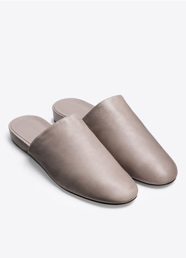 Vince - Oren Leather Flat