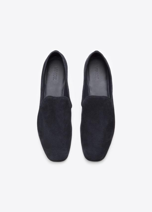 Vince - Bray Deep Blue slip-on loafers