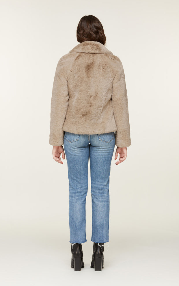 Soia & Kyo - Emanuela Faux Fur Jacket in Honey