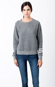 Sol Angeles - SOL ESSENTIAL PULLOVER Heather Grey