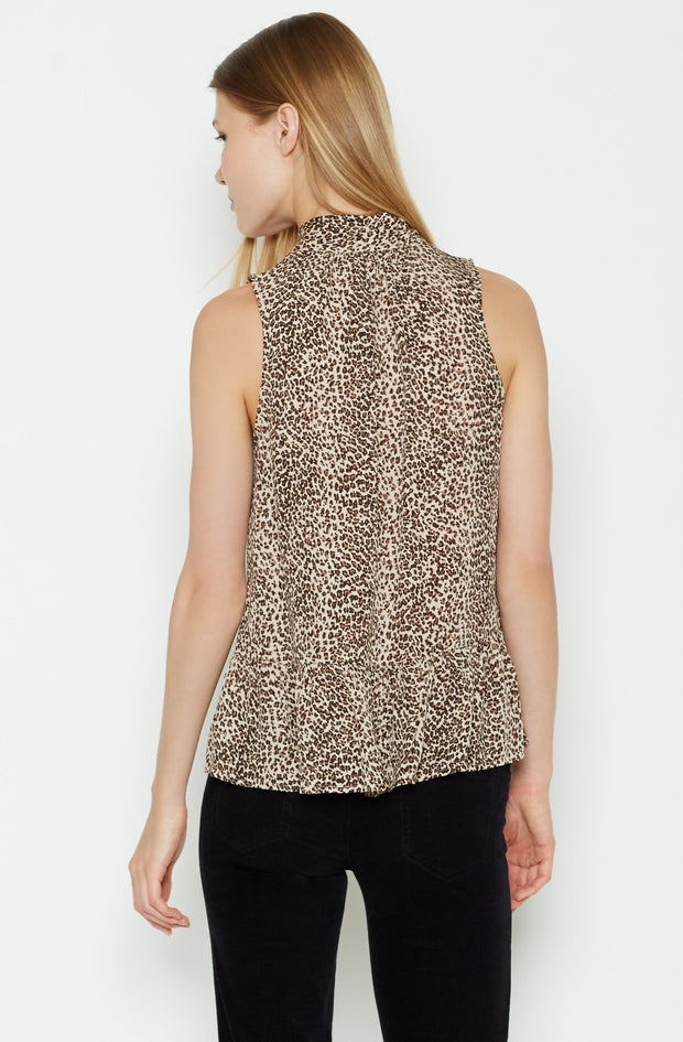 Joie JOIE - Estero Silk Top at Blond Genius - 3