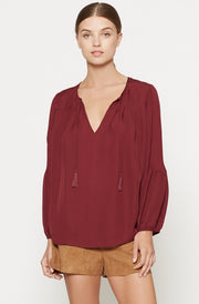 Joie JOIE -  Ezbeth Silk Blouse at Blond Genius - 1