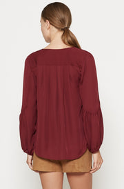 Joie JOIE -  Ezbeth Silk Blouse at Blond Genius - 2