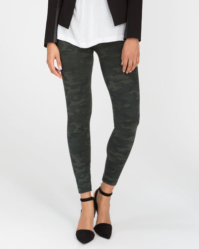 SPANX - Look At Me Now Legging Green Camo