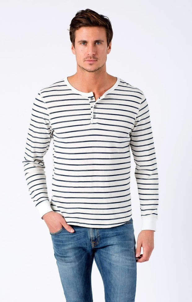 Sol Angeles - Vintage Stripe Long Sleeve Henley