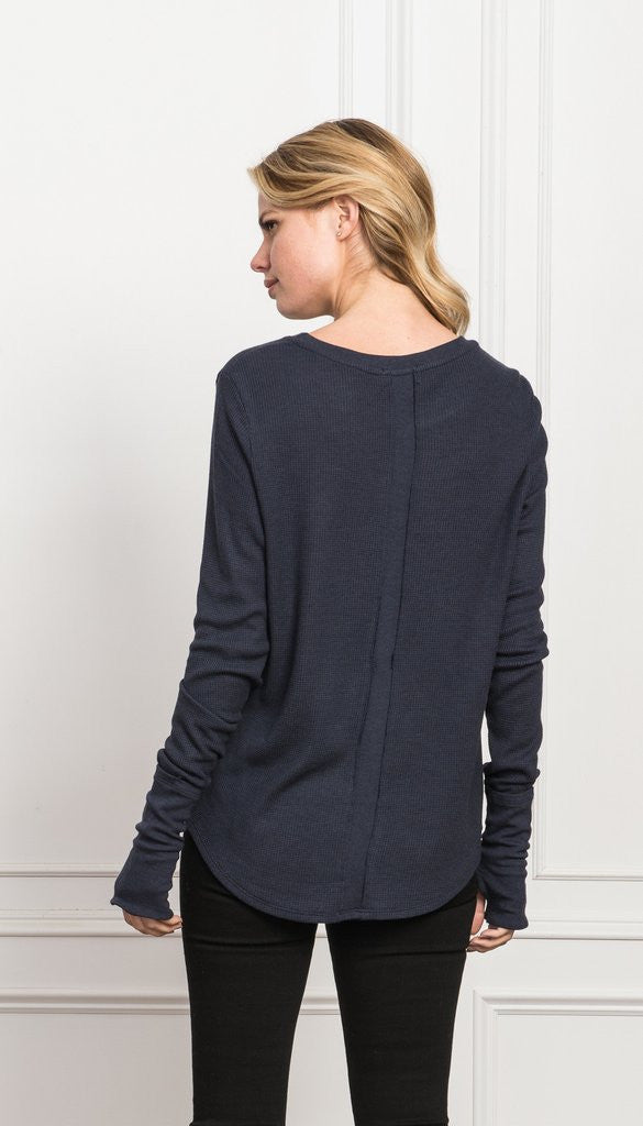 Feel the Piece Feel the Piece - Arca  Heather Navy at Blond Genius - 2