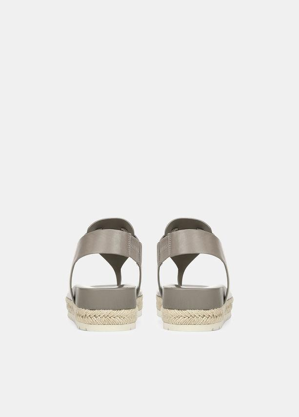 VINCE - Flint Sandal in WoodSmoke