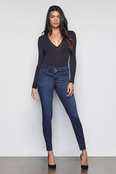 Good American - Good Legs High Rise Jeans in Blue089