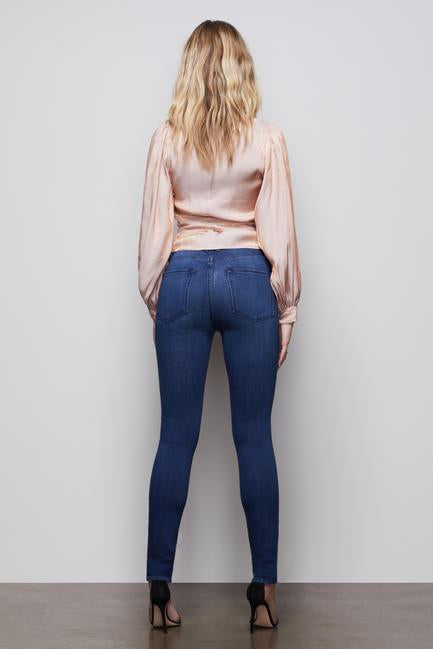 Good American - Good Legs High Rise Jeans in Blue370