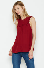 Joie JOIE - Gemini Silk Top at Blond Genius - 1
