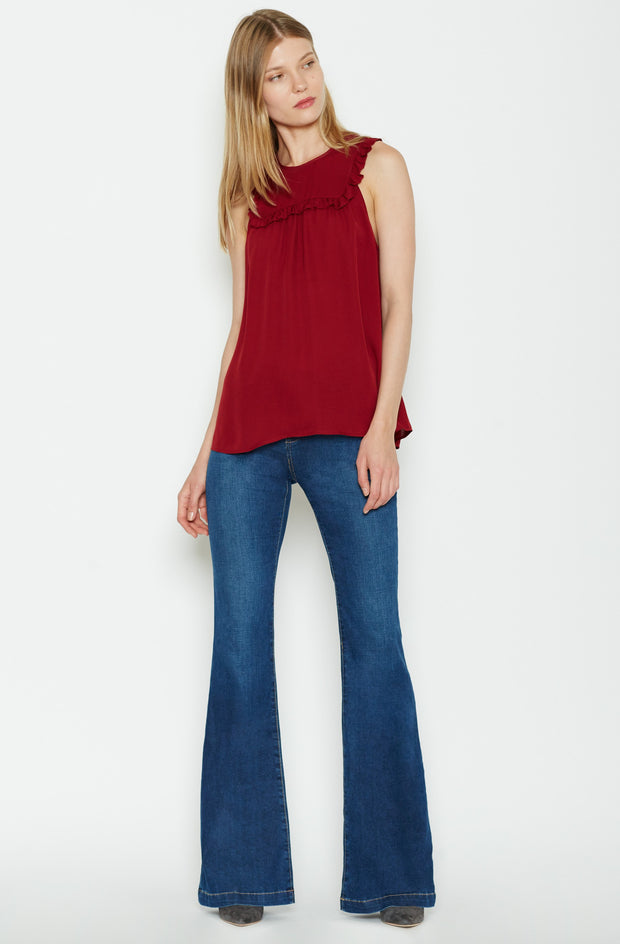 Joie JOIE - Gemini Silk Top at Blond Genius - 2
