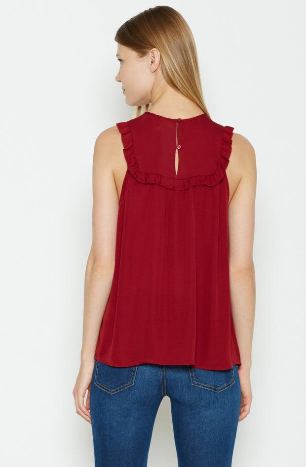 Joie JOIE - Gemini Silk Top at Blond Genius - 3