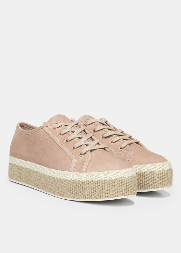 Vince - Windell Low-top Platform Sneakers in Oatmeal