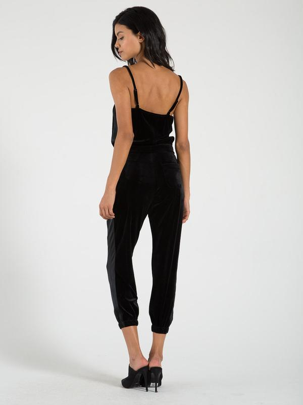 Philanthropy - Christopher Jumpsuit in Black Cat