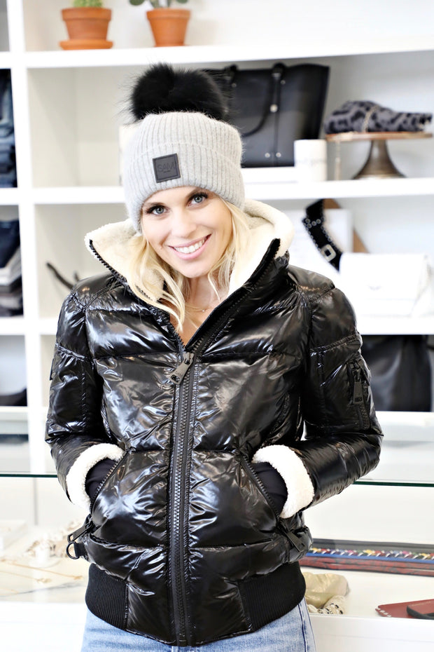 SAM - Nikki Down Jacket in Caviar