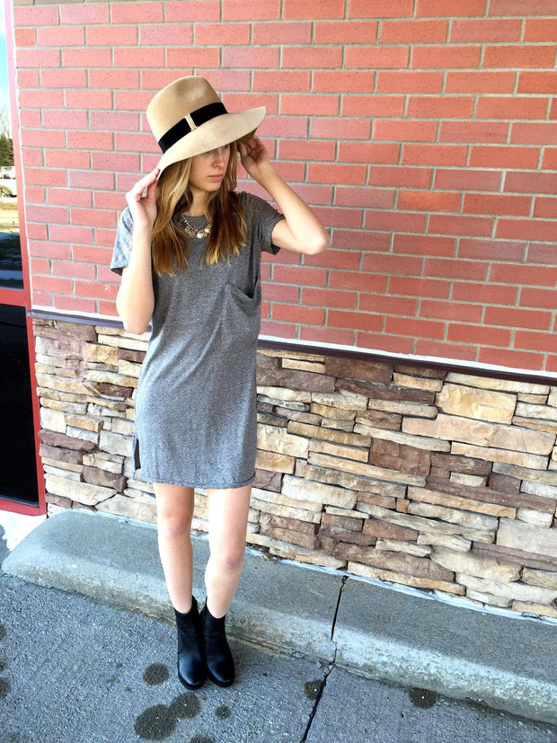 Current/Elliott The Ex Boyfriend Tee Dress at Blond Genius