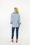 Blond Genius R&B Boyfriend Shirt Kenton W262C563V at Blond Genius - 2