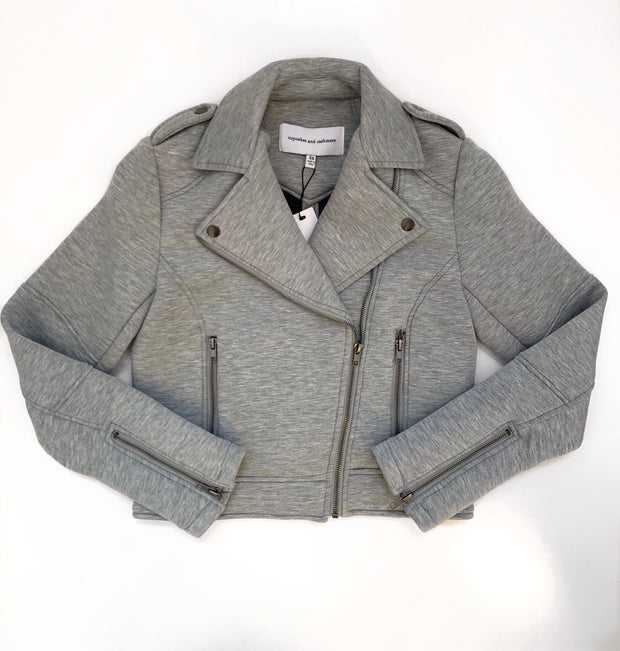 Cupcakes & Cashmere - Katerina Jacket in Light Heather Grey