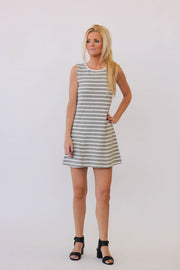 White + Warren Contour Seam Dress at Blond Genius - 1
