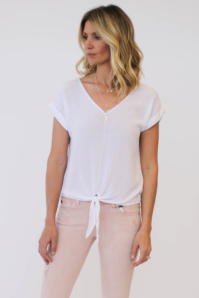 Splendid Rayon Crinkle Gauze Top at Blond Genius