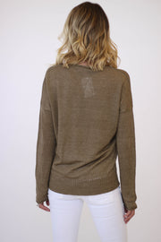 360 Sweater Paisley V Neck at Blond Genius - 2
