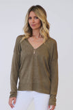 360 Sweater Paisley V Neck at Blond Genius - 1