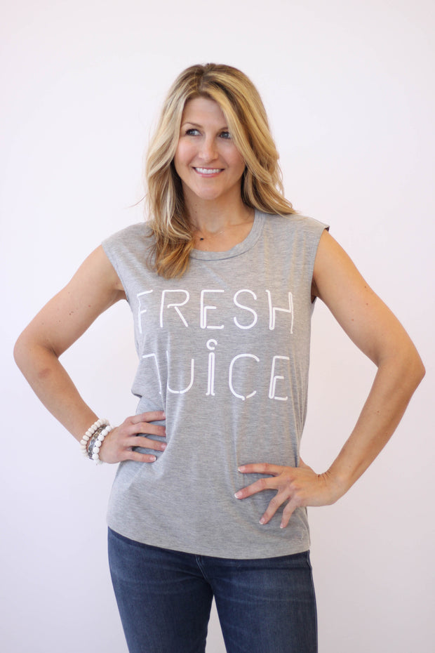 Rebecca Minkoff Fresh Juice Muscle Tee at Blond Genius
