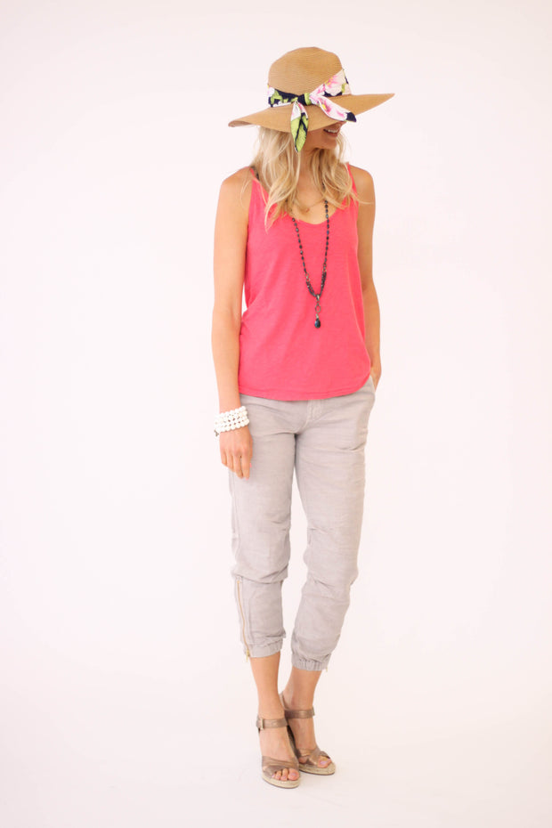 Velvet Emmalee Tank in Flirty Color at Blond Genius - 2