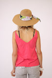 Velvet Emmalee Tank in Flirty Color at Blond Genius - 3