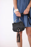 See By Chloe Cross Body Bag in Black at Blond Genius - 2